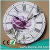 Nuevo reloj del MDF para la decoración casera (T9508)