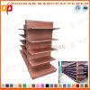 Type en bois personnalisé neuf étagères en acier de gondole de supermarché (Zhs280)