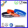 Braccialetto promozionale su ordinazione del silicone, Wristband registrabile del silicone, fascia di manopola di promozione