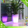 색깔 Changing LED Flower Pot 또는 정원 Decoration LED Flower Vase/LED Flower Planter Pot