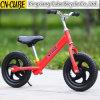 Prix bon marché et sur la couleur bleue, rouge, orange courante vélo d'équilibre de 12 gosses de pouce