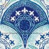 Het Ontwerp van de kunst van het Mozaïek van het Glas voor de Achtergrond van de Pool