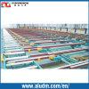 Tableaux de l'extrusion 2000t en aluminium/systèmes de transport de refroidissement dans la machine en aluminium d'extrusion