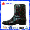 Form Waterproof Ankle PVC Rain Boots für Lady (TNK70015)
