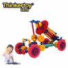 La pista de Thinkertoy bloquea el carro educativo del mezclador de los vehículos de la ingeniería de la serie del coche del juguete (C6403)