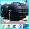Defensa de goma neumática marina