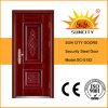 卸し売り中国の外部の金属の機密保護の鋼鉄ドア(SC-S182)