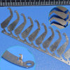 Kundenspezifisches Blech, das Teile stempelt