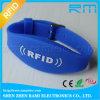 Bracelete do Wristband NFC do silicone do festival Ntag213 RFID dos eventos da música