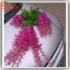 Fleur décorative à la maison de glycines de soie artificielle