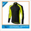 Men bon marché Long Sleeve Cycling Jersey avec 3 Rear Pockets