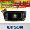 チップセット1080P 16g ROM WiFi 3GのインターネットDVRサポート(A5533)が付いているフィアットDobloのためのWitsonのアンドロイド5.1車DVD GPS