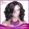 1b# Body Curl Burmese Remy Hair Silk Top Wig
