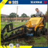 Trencher Xd380를 가진 소형 Skid Steer Loader