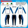 Mode convenable de long vélo de douille de Honorapparel faisant un cycle le Jersey