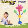 Los juguetes creativos del bloque hueco de la flor para las muchachas