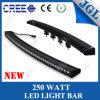 Nouveau guide optique du CREE LED de l'Un-Rangée 250W pour les véhicules 4X4