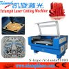 Bastão de beisebol Engraving Machine do laser Cutter 80W Textile do PVC /Wood Board do laser Cutting Machine do Selvage (TR1280)