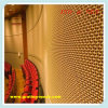 Metaal Decorative Wire Mesh voor Curtain Wall (ISO & SGS)