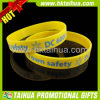 Bracelet de silicones de la coutume 12mm de promotion (TH-band001)