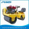 800kg Furd Mini Double Drum Compact Vibration Roller con Sauer Pump