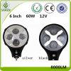 6 luz del trabajo de la pulgada 60W 12V LED