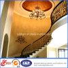 Pasamano decorativo de la escalera del hierro labrado