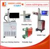 Гравировальный станок лазера Китая Portable Fiber для Ring, Plastis, PVC, Metal и Non-Metal