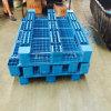Pálete recicl enfrentada Stackable resistente do plástico do tamanho padrão única HDPE/PP do Manufactory