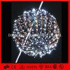Bolas de lujo de la Navidad de las bolas LED de la Navidad del adorno