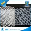 백색 색깔 탬퍼 분명한 안전 테이프
