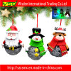 Decorazioni dell'albero di Natale dell'ornamento di natale con l'indicatore luminoso del LED