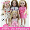 Кукла девушки винила 18 дюймов полная любит кукла волос американских кукол куклы девушки изготовленный на заказ длинняя