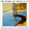 Double découpage de laser de couleur d'ABS et feuille de gravure