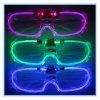 무도회 /Pub 새로운 LED 빛 빛을내는 유리