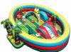 Spielplatz preiswerter Hinterhof-des aufblasbaren Dschungel-Kindes (BMHC143)