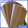 Естественная деревянная алюминиевая составная панель с покрытием PE