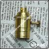 De uitstekende Zuivere Houder/de Contactdoos van de Lamp van het Koper met de Schakelaar van de Keten van de Trekkracht (szt-002)