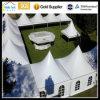 De crête élevée d'espace libre d'envergure 15X50m tentes imperméables à l'eau Arabe de luxe de noce de garnitures et de rideaux d'usager de l'usager