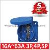 Enchufe de socket de potencia de IP54 Schuko