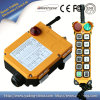 Commande sans fil universelle à télécommande par radio industrielle de la télécommande F24-12D AC/DC pour la grue