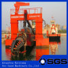 Chaland de dragueur d'aspiration de sable de coupeur hydraulique à vendre