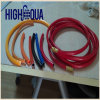 Hoher Standard unverschmutztes PVC-Regenbogen-Schlauch-Faser-Flechte PVC-Rohr