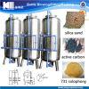 Sistema de processamento da água mineral de aço inoxidável