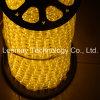 Luz horizontal redonda impermeável flexível da angra da luz da corda do diodo emissor de luz IP65