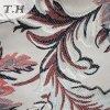 Tissu de tapisserie d'ameublement de jacquard de modèle de feuille