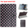 iPad Mini1/2/3를 위한 형식 3 Folded Beads Printing Tablet Case