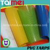 Tissu enduit de bâche de protection de maille de tissu de maille de PVC de tissu de maille
