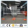 Cerca temporal galvanizada sumergida caliente/cerca movible
