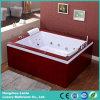 목욕 통 (TLP 666 나무 치마)를 사용하는 호화스러운 현대 샤워